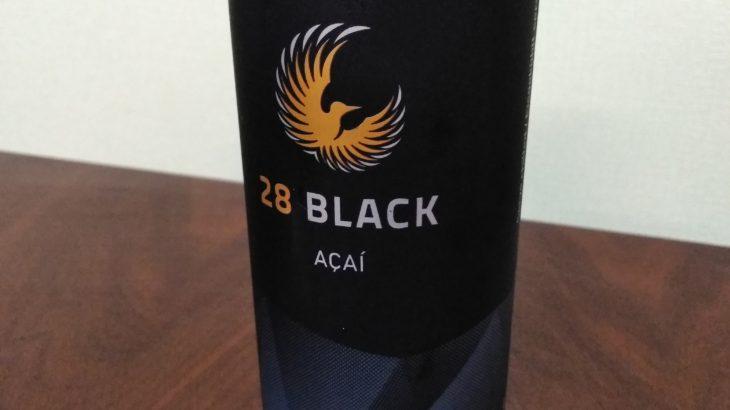 【天然由来のエナジードリンク】「28 BLACK アサイー」を飲んでみた。